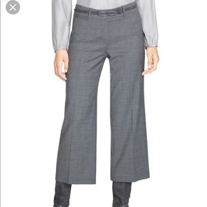 WHBM Cropped Lined Slacks